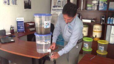 Los mejores filtros de agua por gravedad