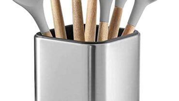Los mejores soportes para utensilios de cocina